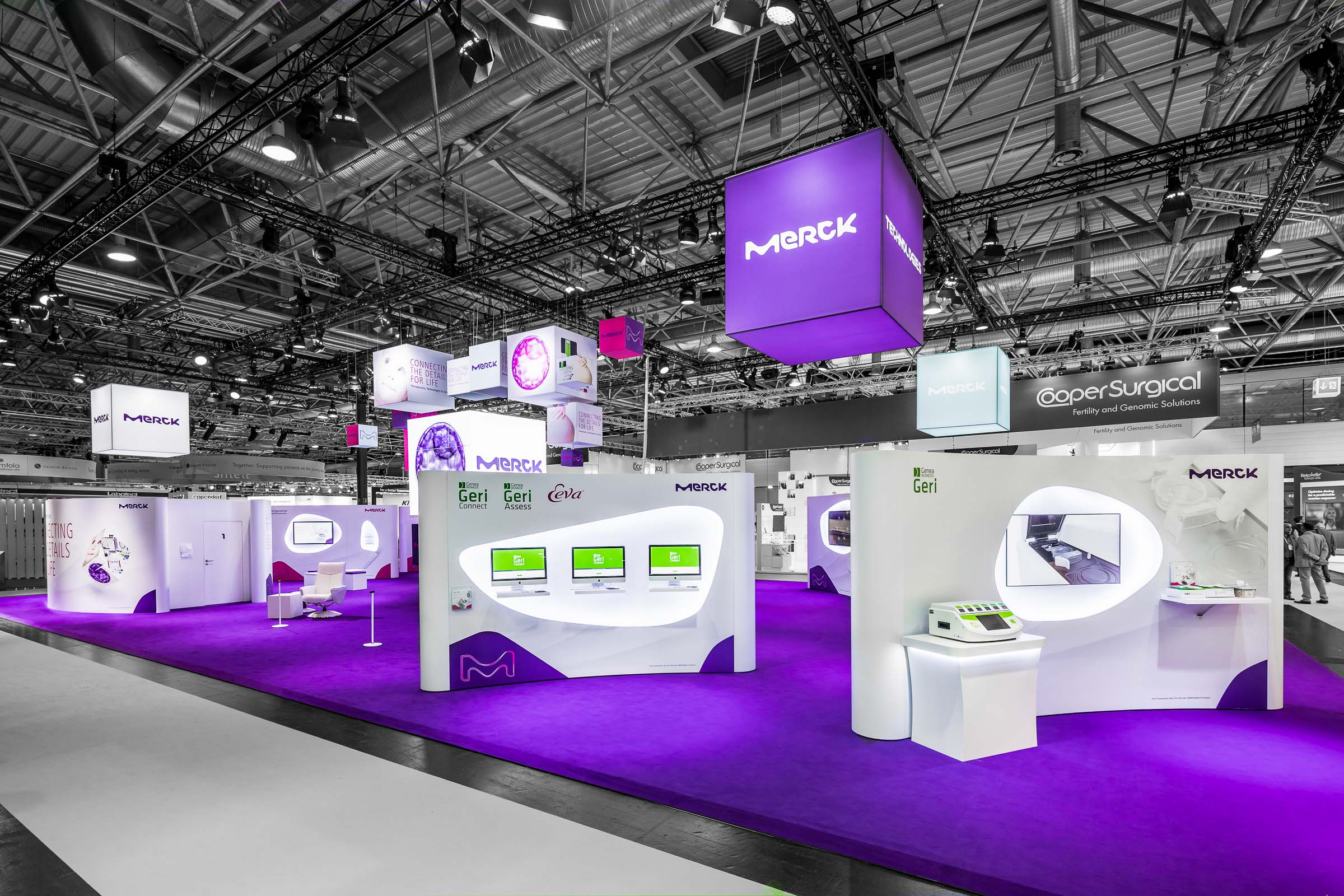 Messestand MERCK Wien Messeprojekt GmbH