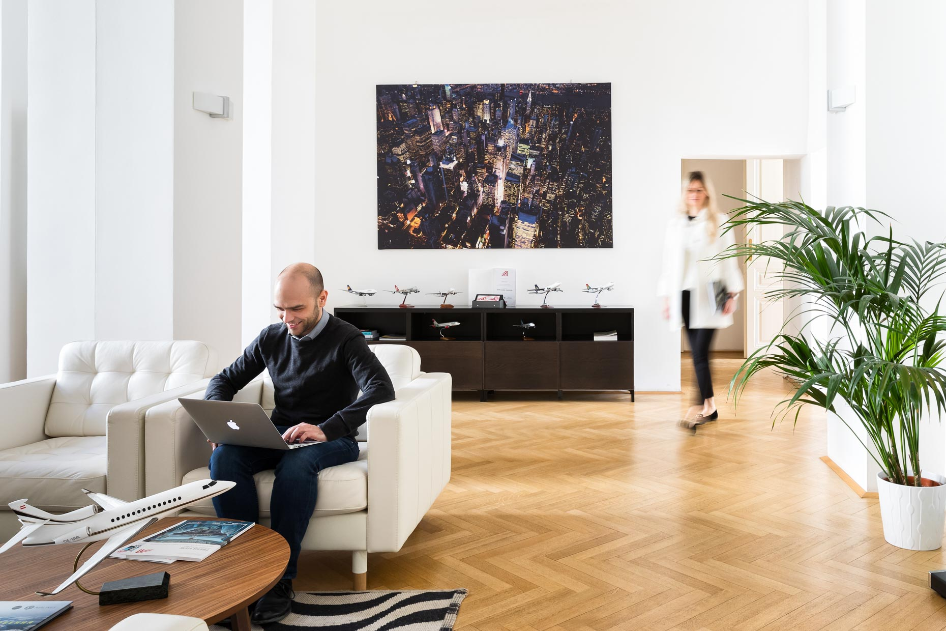 Office Interiorfotografie und Corporate Lifestyle Fotograf Shooting